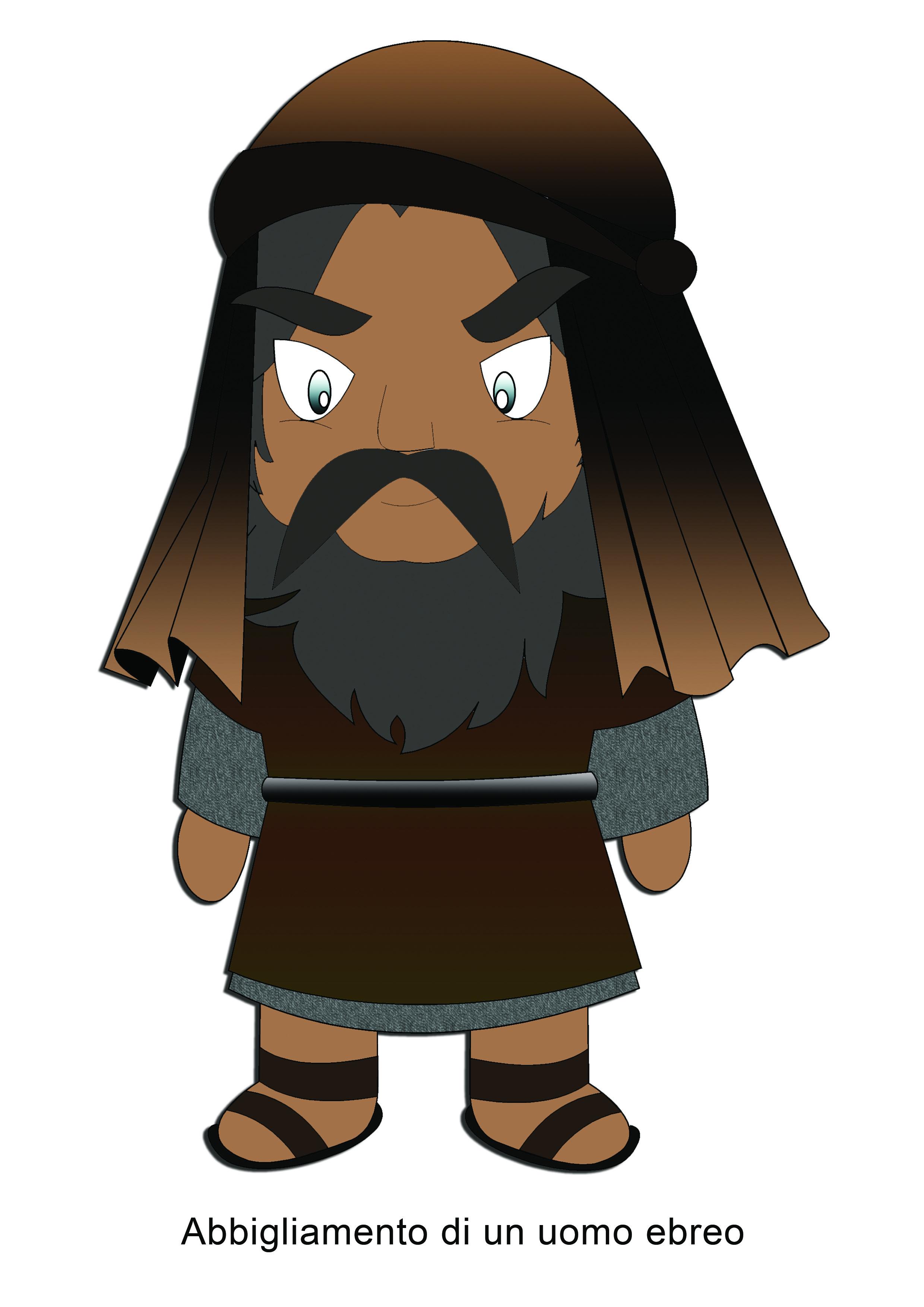 Abbigliamento di un uomo ebreo
